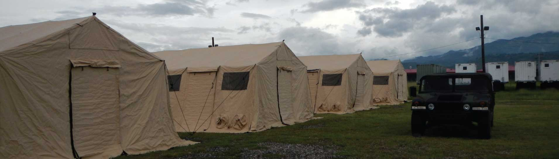 Military Tents & Military Tents - Nizam Canvas
